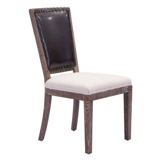 Market Dining Chair Brown & Beige (set of 2)