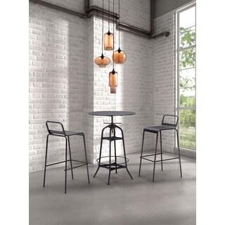 Lambie Rust and Amber Ceiling Lamp