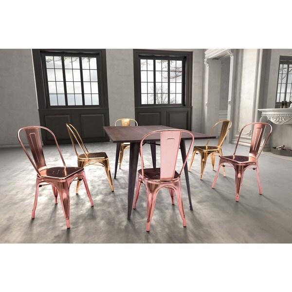 Elio Steel Dining Chair (Set of 2)