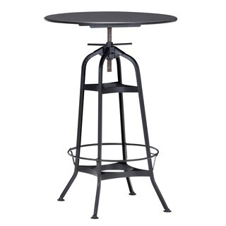 Spartan Bar Table Antique Black