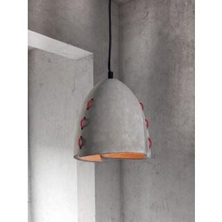 Confidence Concrete Grey Ceiling Lamp