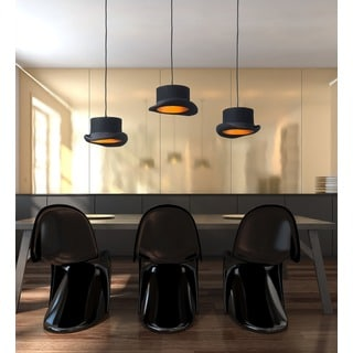 Aspiration Black and Gold Ceiling Lamp