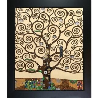 Gustav Klimt 'Tree of Life' Hand Painted Framed Canvas Art