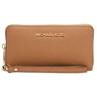 MICHAEL Michael Kors Jet Set Travel Large Multifunction Phone Wristlet