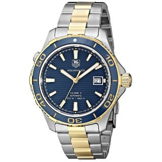 Tag Heuer Men's WAK2120.BB0835 'Aquaracer' Automatic Two tone Stainless Steel Watch
