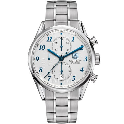 Tag Heuer Men's CAR2114.BA0724 'Carrera' Automatic Chronograph Stainless Steel Watch