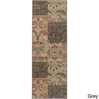 Artfully Crafted Abingdon Paisley RuArea Rug (27 x 73 - Grey)