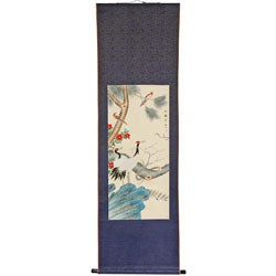 Pine and Crane Scroll (China)