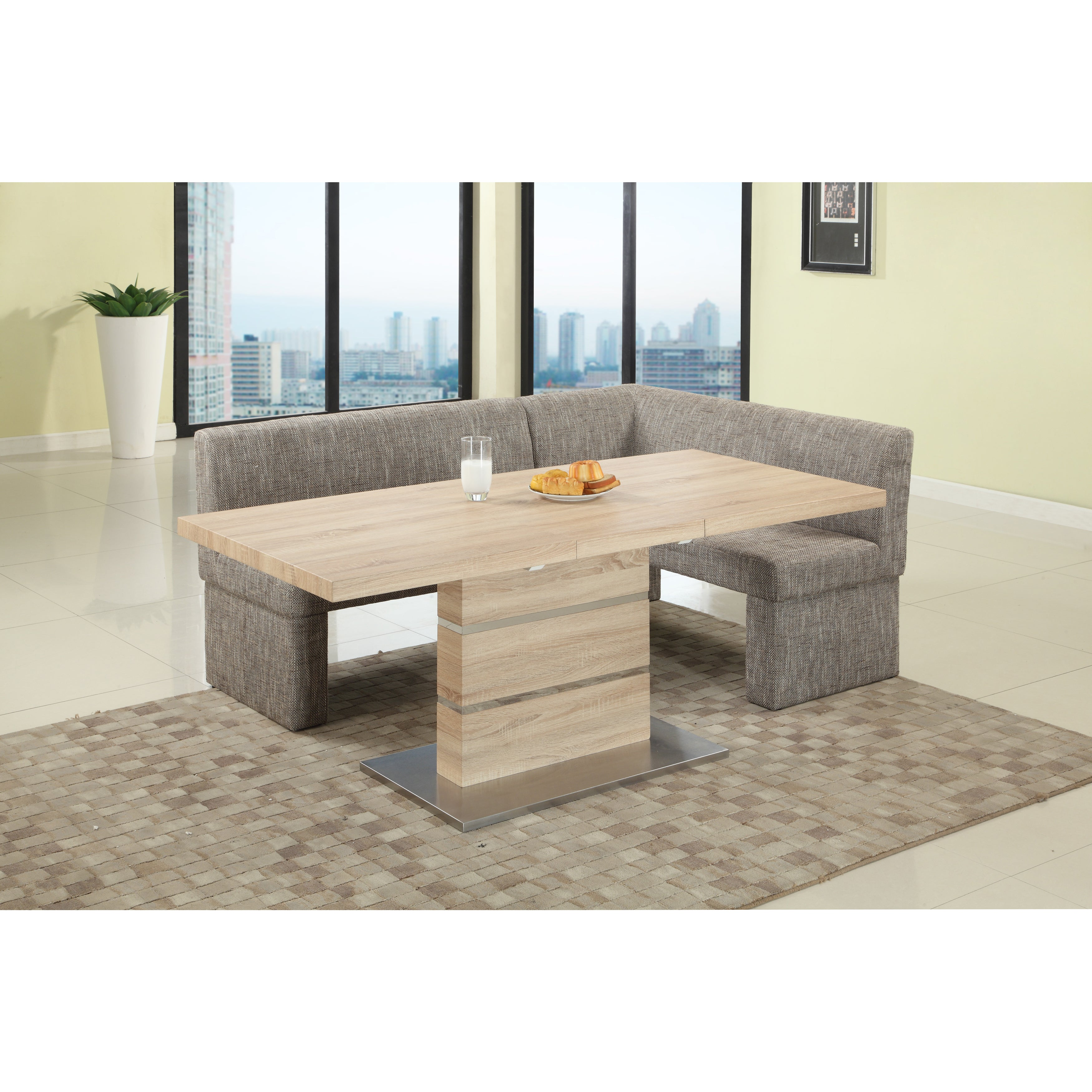 Superb Somette Liberty Light Oak 2 Piece Dining Set Caraccident5 Cool Chair Designs And Ideas Caraccident5Info