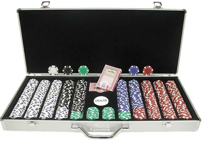 Trademark Poker 650-pc. 11.5g Dice Poker Chip Set