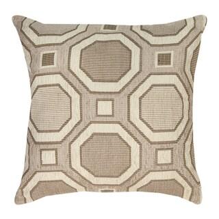 Neutrals Octagon Throw Pillow