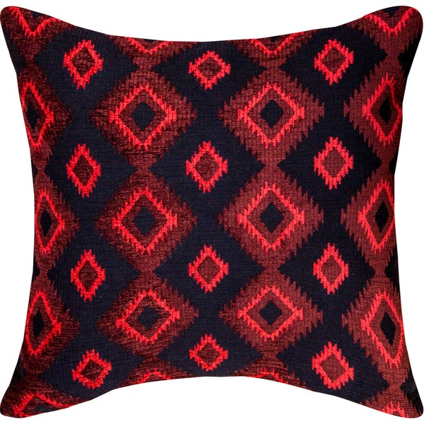 Southwestern Red Throw Pillow