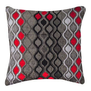 Geometric Hourglass Throw Pillow