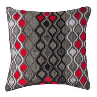Geometric Hourglass Throw Pillow