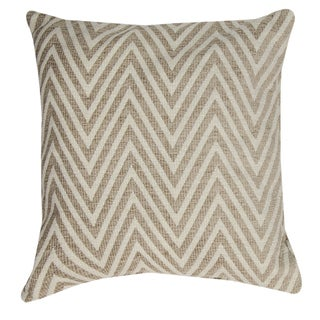 Chevron Neutral Throw Pillow