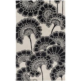 Hand-Tufted Aleena Floral Rug (3'3 x 5'3)