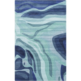 Hand-Tufted Meisner Abstract Indoor Area Rug - 5' x 8'