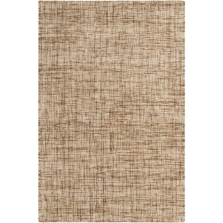 Hand-Woven Khloe Plaid Wool Rug (2' x 3')