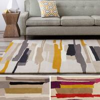 Hand-Tufted Johnny Stripe Indoor Area Rug - 9' x 12'
