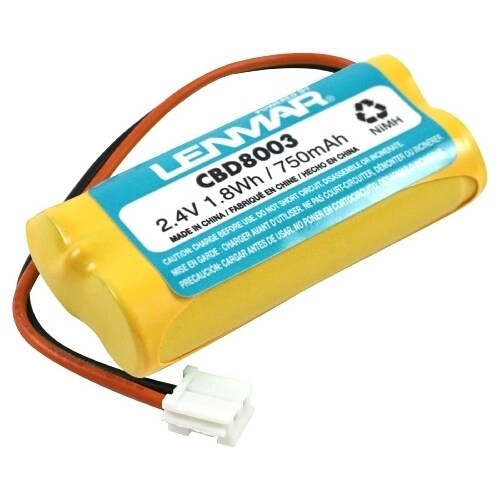 Lenmar CBD8003 Cordless Phone Battery, Nickel