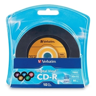 Verbatim Digital Vinyl 52x CD-R Media