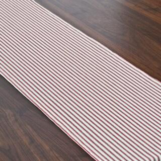 Red Stripe Hemmed Runner (1' x 6')