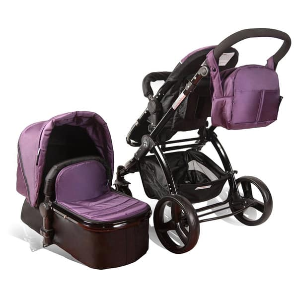 Elle Baby Deluxe Stroller Travel System With Bassinet ...
