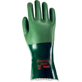 Ansell Health Neoprene Liquidproof Work Gloves
