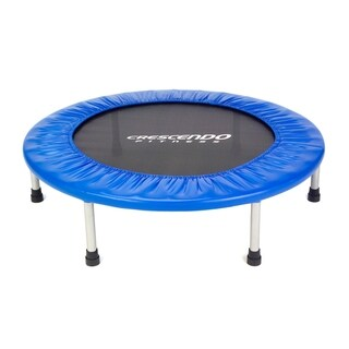 "Crescendo Fitness 40"" Mini Jump Trampoline - Blue"
