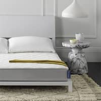 Safavieh Aura 6-inch Spring Full-size Mattress Bed-in-a-Box - White