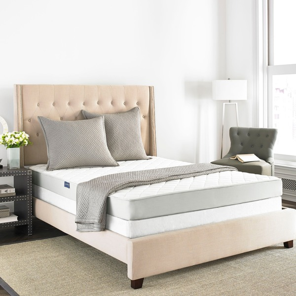 safavieh aura 6inch spring fullsize mattress bedinabox free shipping today