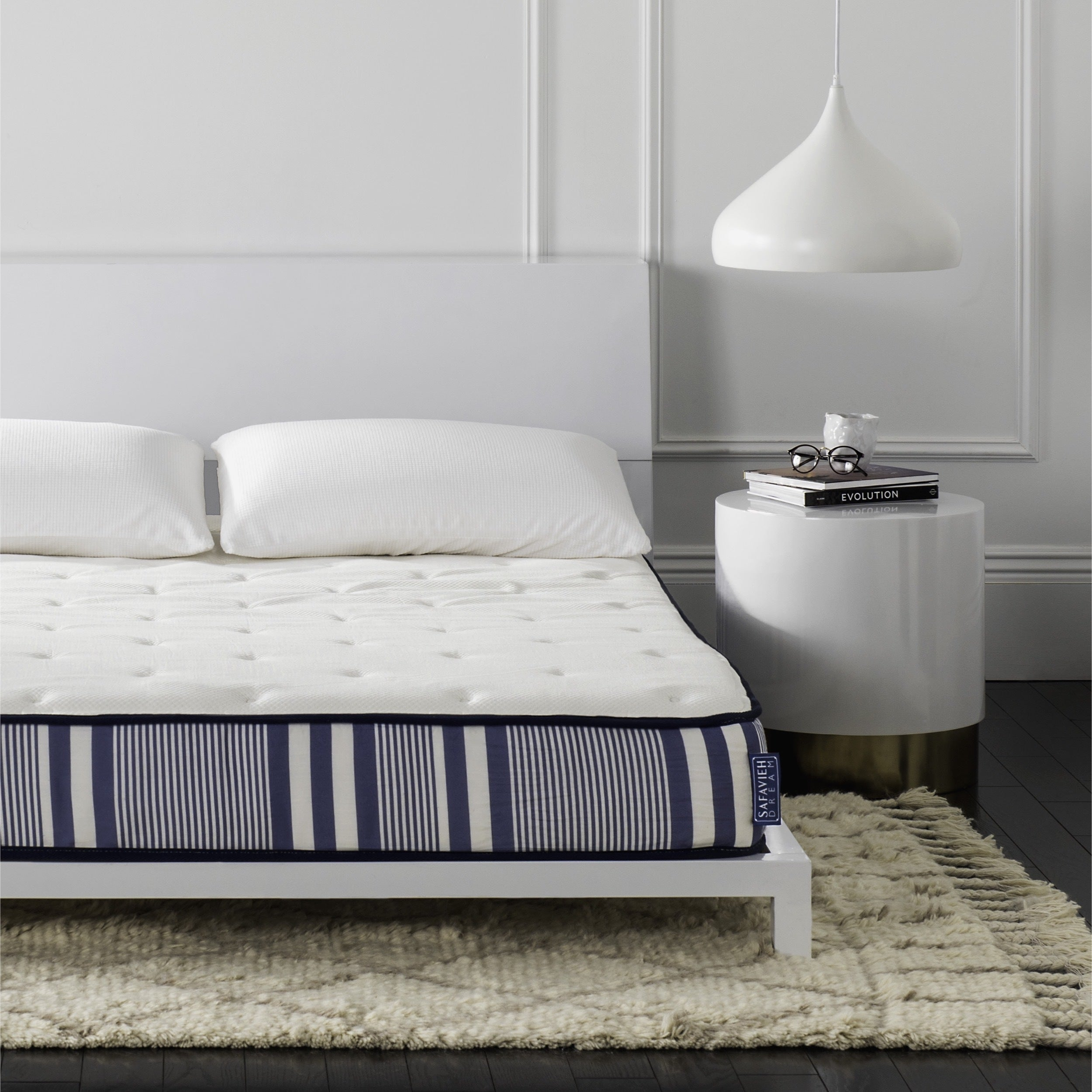 Safavieh Bliss 8-inch Spring Queen-size Mattress Bed-in-a...