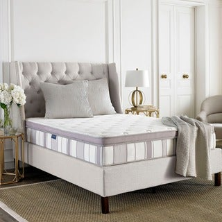 Safavieh Serenity 11.5-inch Pillow-top Spring Twin-size Mattress Bed-in-a-Box