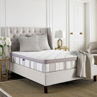 Safavieh Serenity 11.5-inch Pillow-top Spring Queen-size Mattress Bed-in-a-Box