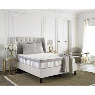 Safavieh Utopia 11.5-inch Pillow-top Spring King-size Mattress Bed-in-a-Box