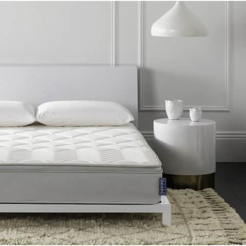 Safavieh Nirvana 10-inch Euro Pillow-top Spring Queen-size Mattress Bed-in-a-Box