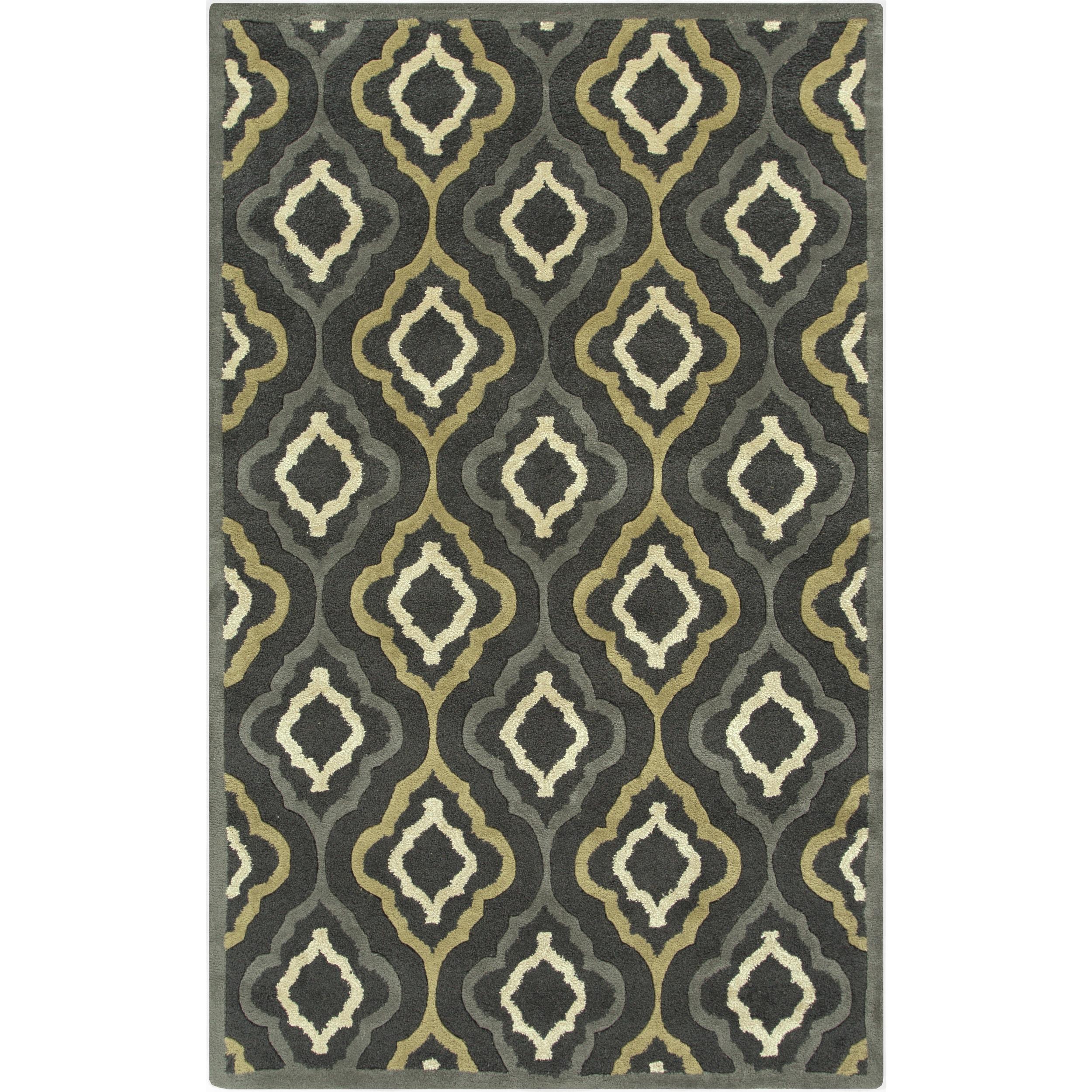 SURYA Hand-Tufted Payten Morrocan Trellis Rug (9' x 13') ...