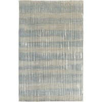 Hand-Knotted Teviot Stipe Indoor Area Rug