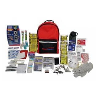 ready america 2 person 3 day deluxe emergency backpack