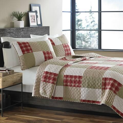 Eddie Bauer Camano Island Reversible Cotton 3-piece Quilt Set