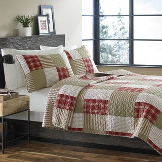 Eddie Bauer Camano Island Reversible Cotton 3-piece Quilt Set