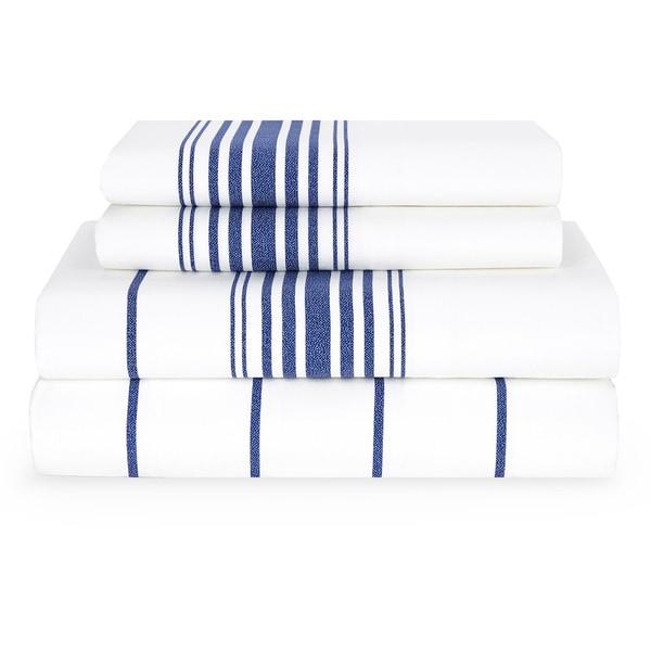 Tommy Hilfiger Baja Stripe Sheet Set Free Shipping Today