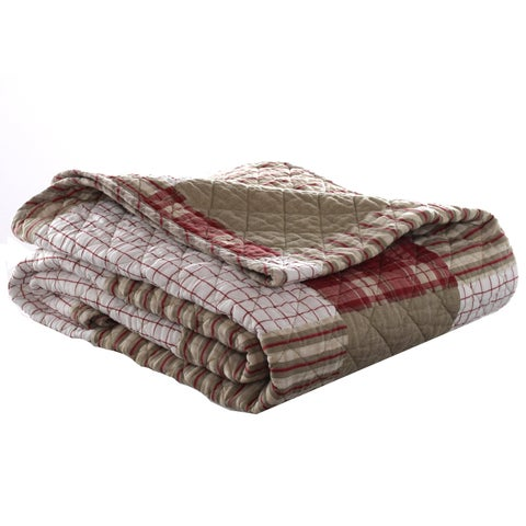 Eddie Bauer Camano Island Quilted Cotton Throw