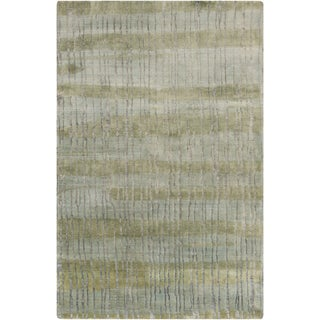 Candice Olson : Hand-Knotted Wilkes Abstract Indoor Rug (9' x 13')