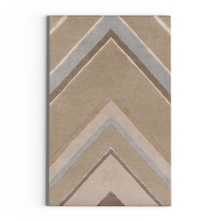 Hand-Tufted Wright Geometric Indoor Rug (2' x 3')