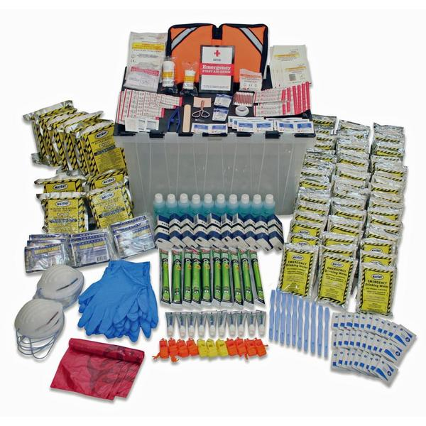 Ready America 10 Person 3 Day Ready America Kit (12-Gal Tote) 15043061