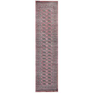 Herat Oriental Pakistani Hand-knotted Tribal Bokhara Wool Runner (2'7 x 9'10)