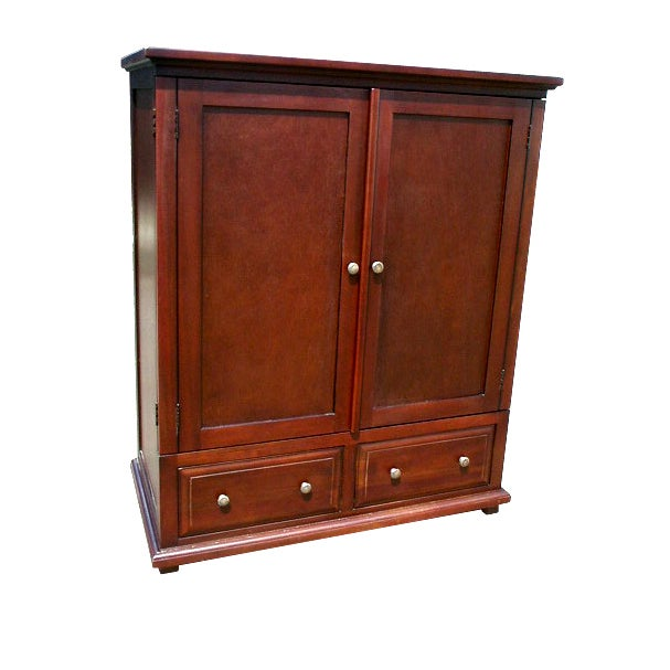 Handmade D-Art Java TV Armoire with Two Drawers (Indonesi...