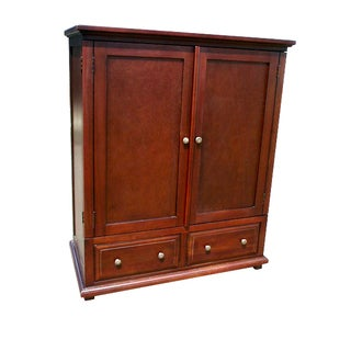 Handmade D-Art Java TV Armoire with Two Drawers (Indonesia)