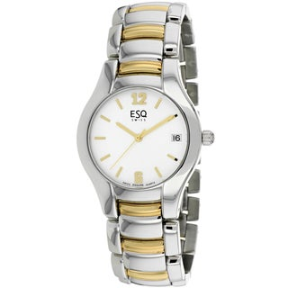 ESQ Men's 07300671 Previa Round Two-tone Bracelet Watch